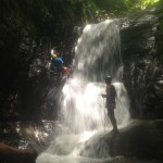 Waterfall rappelling with Costa Canyoning- a new adventure trip that UTSI trip participants can enjoy